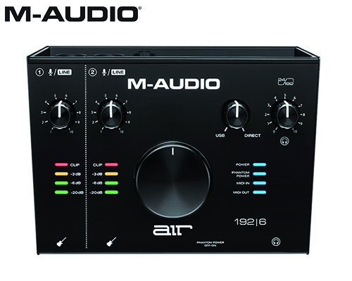 M-AUDIO(エムオーディオ)2in/2out USBオーディオインターフェイス AIR 192 | 6