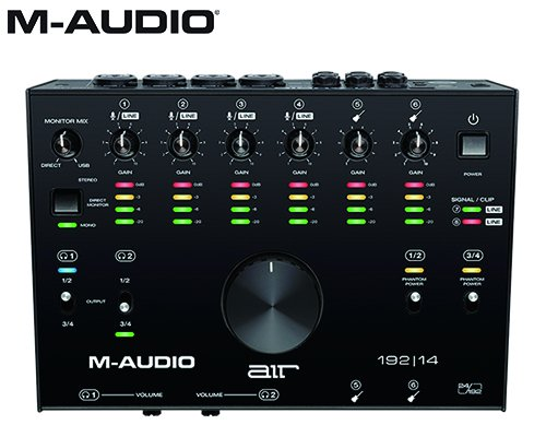M-AUDIO(エムオーディオ)8in/4out USBオーディオインターフェイス AIR 192 | 14