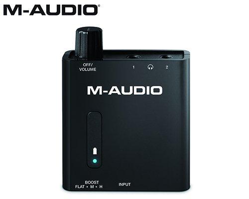 M-AUDIO(エムオーディオ)ポータブル・ヘッドホンアンプ Bass Traveler