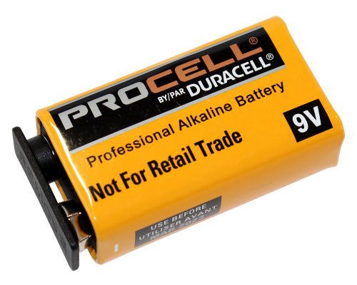 DURACELL-PROCELL 9V006P アルカリ電池 1個
