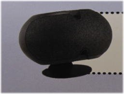 EV エレクトロボイス EVID-3.2/4.2シリーズ用 横置きデスクトップスタンド 黒 HS-3