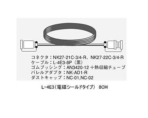 CANARE 8CH/30mマルチケーブル/電磁シールドタイプ