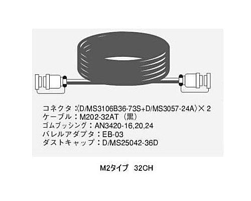 CANARE 32CH/10mマルチケーブル/M2タイプ