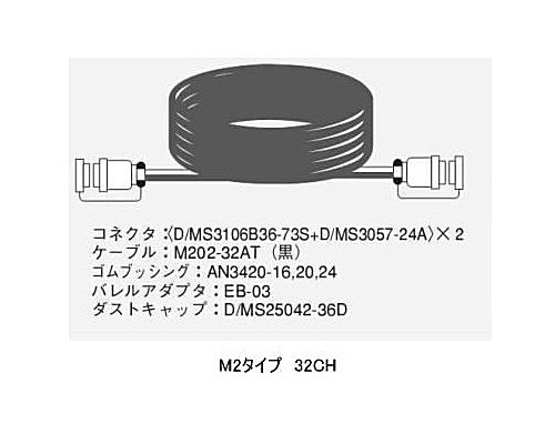 CANARE 32CH/30mマルチケーブル/M2タイプ