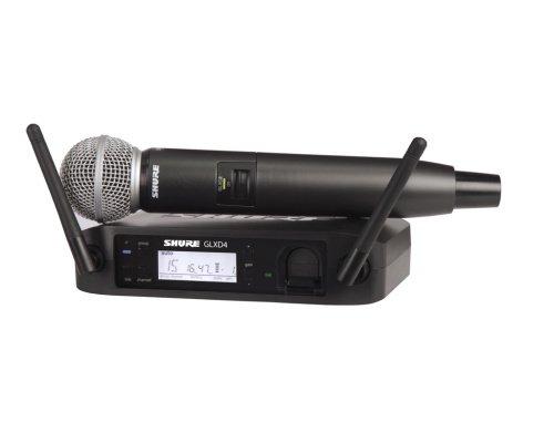 SHURE GLXD24/SM58 デジタルワイヤレス 2.4GHz帯 ハンドヘルド型