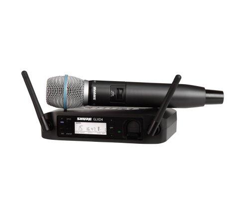 SHURE GLXD24/BETA87A デジタルワイヤレス 2.4GHz帯 ハンドヘルド型