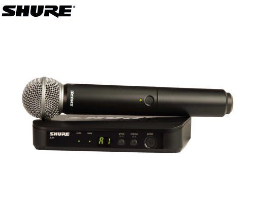 SHURE マイクロホン ワイヤレスセット BLX24/SM58