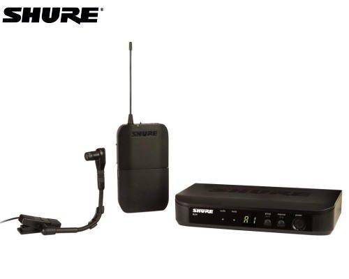SHURE 楽器用マイクロホン ワイヤレスセット BLX14/B98