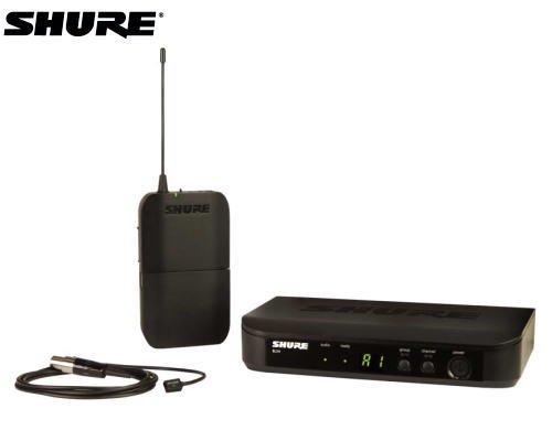 SHURE ラベリアマイクロホン ワイヤレスセット BLX14/W93