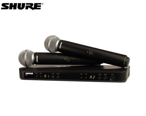SHURE マイクロホン デュアルワイヤレスセット BLX288/SM58