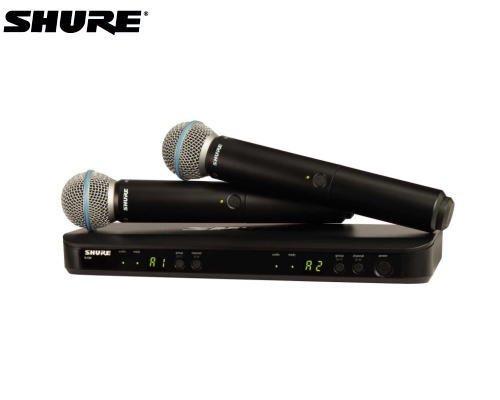 SHURE マイクロホン デュアルワイヤレスセット BLX288/B58