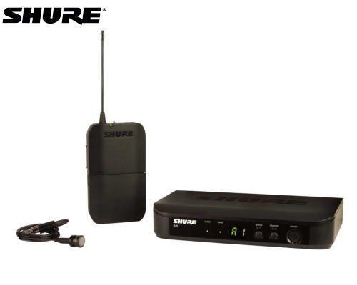 SHURE ラベリアマイクロホン ワイヤレスセット BLX14/W85