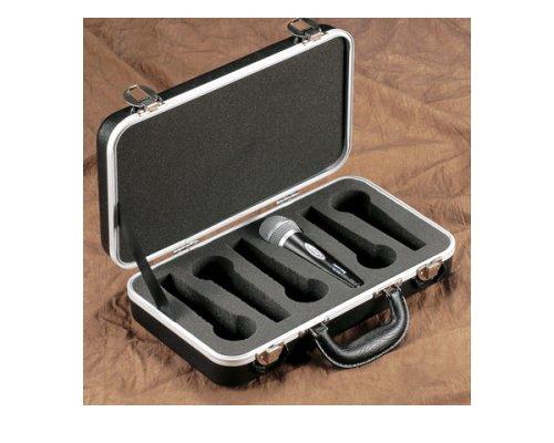 GATOR マイク6本収納ケース GM-6-PE ワイヤードマイクケース・平置きタイプ