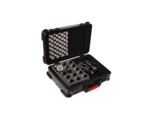 GATOR マイク15本収納ケース GTSA-MIC15 マイク&ケーブルケース・15本ドロップタイプ