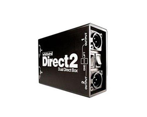 whirlwind 2CHパッシブダイレクトボックス/DIボックス DIRECT2