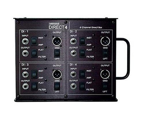 whirlwind 4CHパッシブダイレクトボックス/DIボックス  DIRECT4