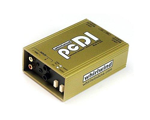 whirlwind CD・MD・サウンドカード用 2CHパッシブ・ダイレクトボックス/DIボックス  PCDI