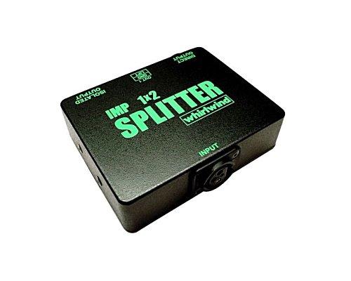 whirlwind 1 IN 2 OUT パッシブマイクスプリッター IMP1×2 SPLITTER