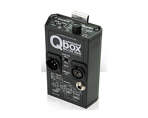 whirlwind オーディオ・ラインテスター Q-BOX