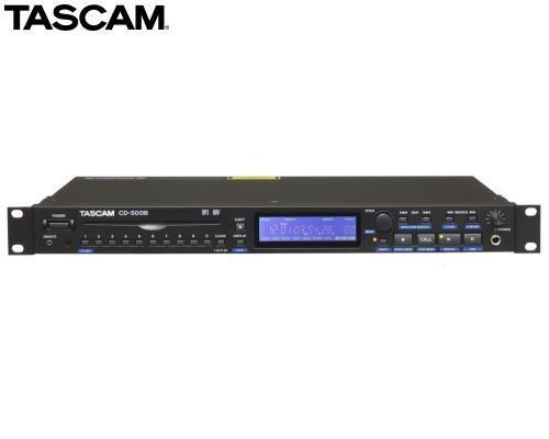 TASCAM CD-500B (バランス出力を装備)