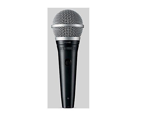 SHURE カーディオイド・ダイナミック・ボーカルマイクロホン PGA48-LC 正規輸入品