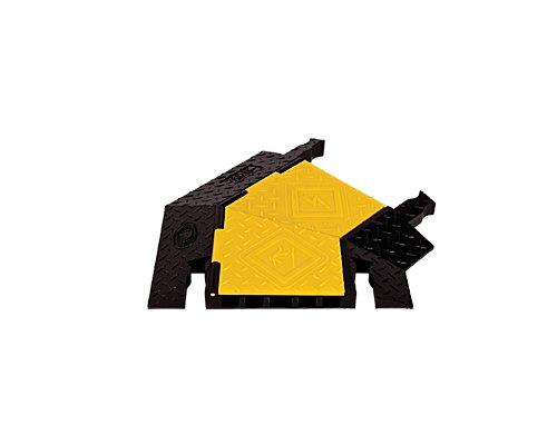 CHECKERS/YELLOW JACKET 5chヘビーデューティー・ケーブルプロテクター 45°右旋回 YJ5TR-125-Y/B