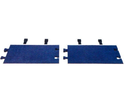 CHECKERS/LINEBACKER ヘビーデューティー・ケーブルプロテクター 5ch&4ch用スロープ CPRP-4/5BLU