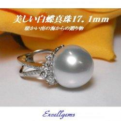 pt南洋白蝶真珠17.1mm