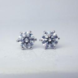 ptダイヤモンドピアス1.036ct
