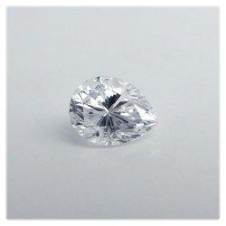 ペアシェイプダイヤモンド裸石 0.333ct DSI2