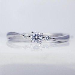 ptエクセレントダイヤモンドリング0.087ct 0.03ct