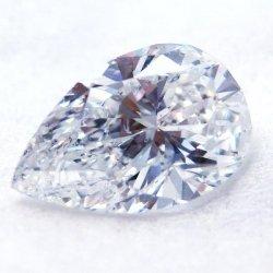 ティアドロップ ダイヤモンドルース D 1.01ct F-SI2