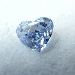 ブルーダイヤモンド ルース D 0.13ct Fancy Intense Blue VS2