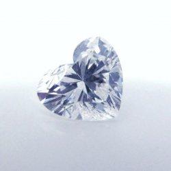 ハートシェイプダイヤモンドルース D 1.022ct F-SI2 中央宝石研究所ソーティング付