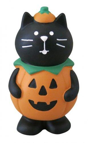 ハロウィン/コスプレ黒猫/デコレ/concombre