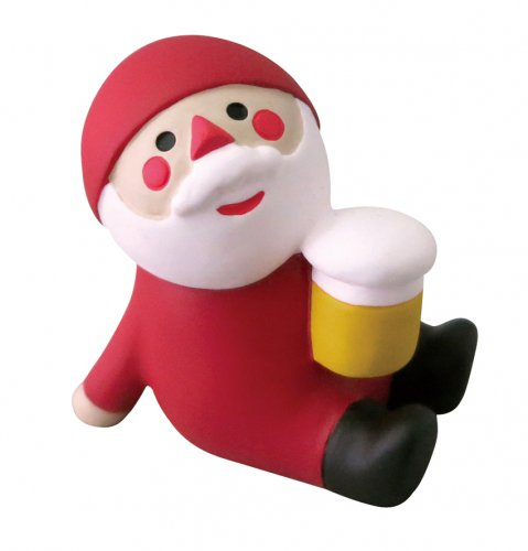 クリスマス/ビールサンタ/デコレ/concombre