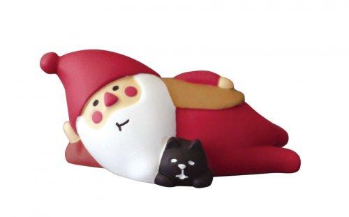クリスマス/冬太りサンタ/デコレ/concombre