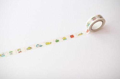 マスキングテープ/しりとり/ニシワキタダシ/手紙舎