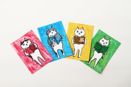 ポストカード/4枚入り/くまくら珠美