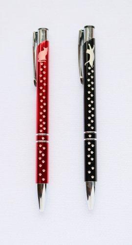 ◆ハンドメイド◆MOON/肉球あしあとボールペン