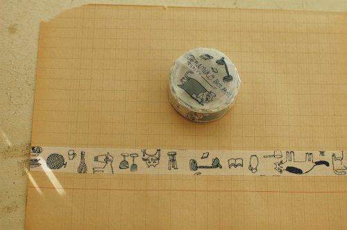 マスキングテープ/記憶のモンプチB/トラネコボンボン