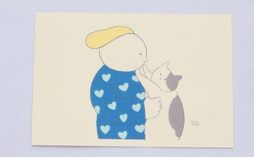 ◆ハンドメイド◆Zacchino!/ポストカード/愛