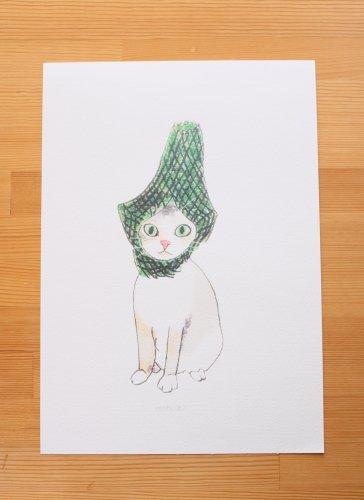◆ハンドメイド◆nenekoro/ポスター