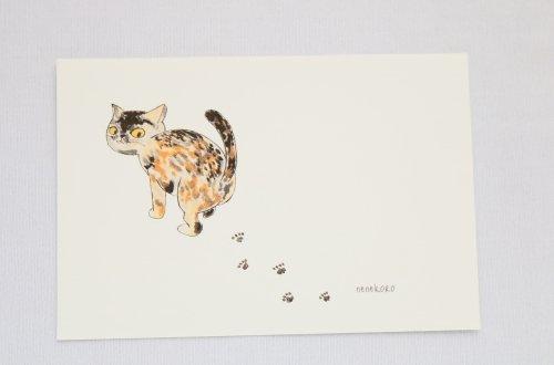 ◆ハンドメイド◆nenekoro/ポストカード