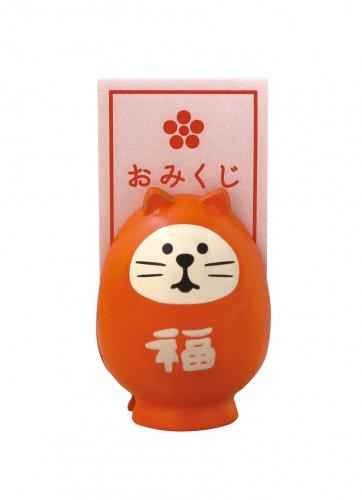 おみくじメモスタンド/福猫/デコレ/concombre