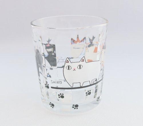 猫三兄弟/タンブラー/グラス/コップ