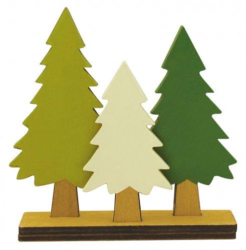 森の針葉樹/デコレ/concombre