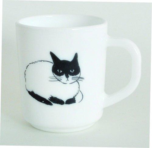 マグ/カップ/milkglass/cat/松尾ミユキ