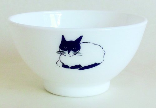 <img class='new_mark_img1' src='//img.shop-pro.jp/img/new/icons1.gif' style='border:none;display:inline;margin:0px;padding:0px;width:auto;' />ボウル/bowl/milkglass/cat/松尾ミユキ