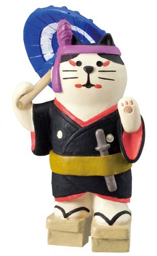 旅猫/銀座・歌舞伎猫/デコレ/concombre